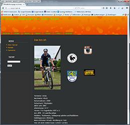 Offizielle Homepage von Jonas Klodt