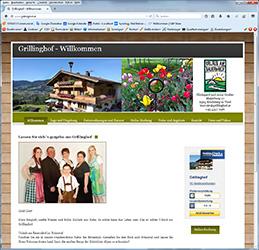 Grillinghof in Kirchberg Tirol