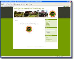 Website von Kleingärtnerverein Am Stollenweg e.V.