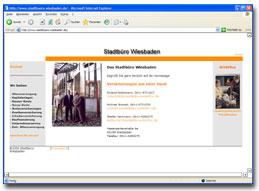 Stadtüro Wiesbaden